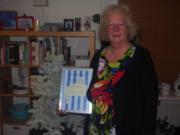 Lid van verdienste: Dineke van der Velde